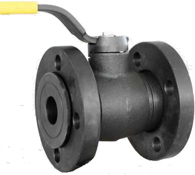 Краны газовые шаровые с плавающими фланцами ЭКС-Форма