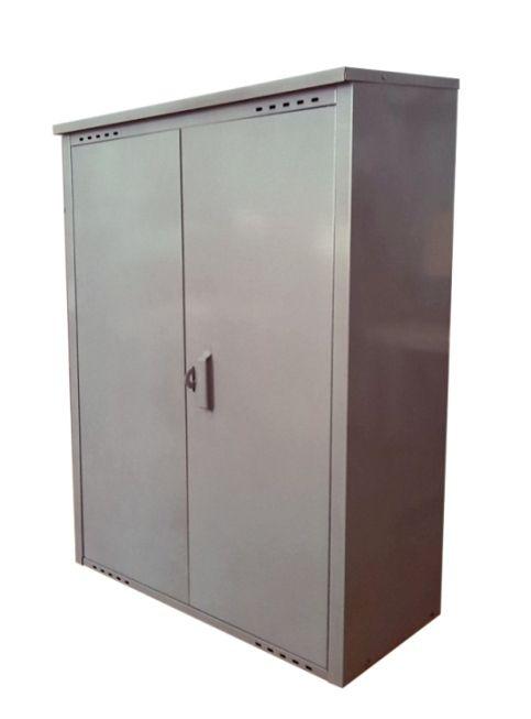 Шкаф оцинкованный для двух газовых баллонов 50 л
